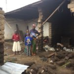 Helping flood victims in Mbeya
